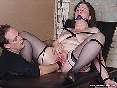 bound gagged fisted